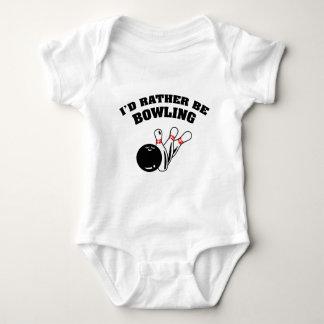 I'd Rather Be Bowling Infant Creeper