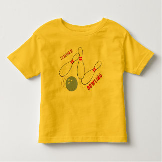 I'd Rather be Bowling Toddler T-Shirt