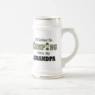 I'd Rather Be Camping  with Grandpa Mugs