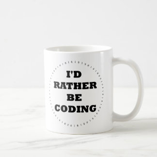 I'd Rather be Coding Mug