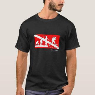 I'd rather be diving, SCUBA evolution t-shirt. T-Shirt
