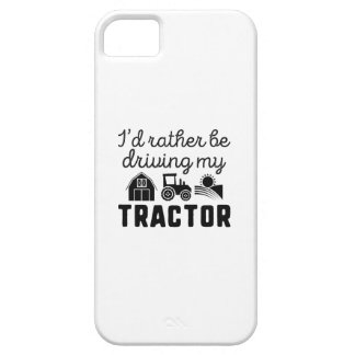 I'd Rather Be Driving My Tractor iPhone 5 Cases