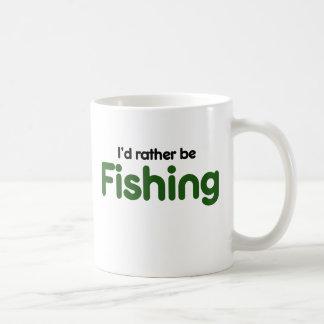 Id rather be FISHING Coffee Mug