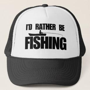 95d502ba5e6 I d rather be fishing trucker hat