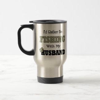 I'd Rather Be Fishing  with my Husband Mug