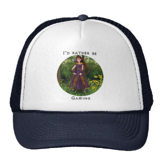 I'd rather be gaming Hat