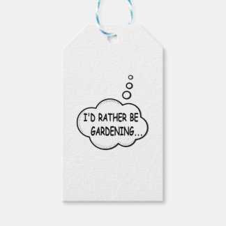 I'd Rather Be Gardening Gift Tags