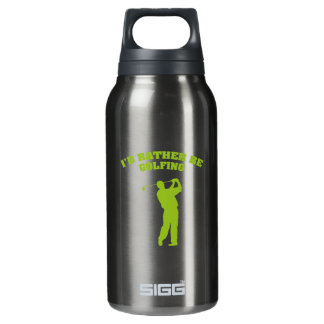 I'd Rather Be Golfing 0.3 Litre Insulated SIGG Thermos Water Bottle