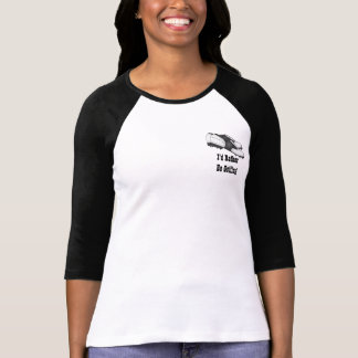 I'd Rather Be Golfing Funny Golf Tshirts