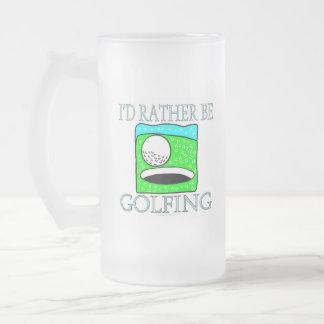I'd rather be golfing (mug)
