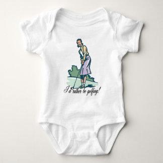 I'd Rather Be Golfing! Shirt