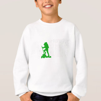 Id Rather Be Hiking Great Hiker Gift Sweatshirt