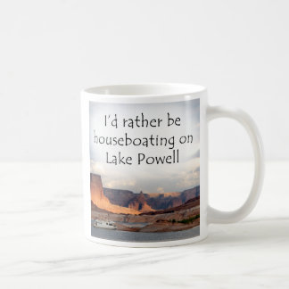 I'd rather be houseboating at Lake Powell! Coffee Mug