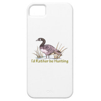 ID RATHER BE HUNTING iPhone 5 COVER