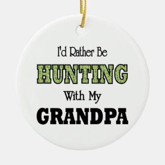 I'd Rather Be Hunting with Grandpa Ornament