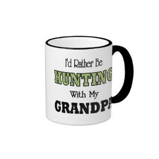 I'd Rather Be Hunting with Grandpa Ringer Mug