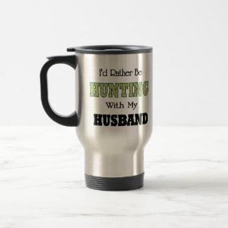 I'd Rather Be Hunting with My Husband Mug