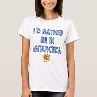 I'd Rather be in Antarctica Summer Heatwave Tshirt