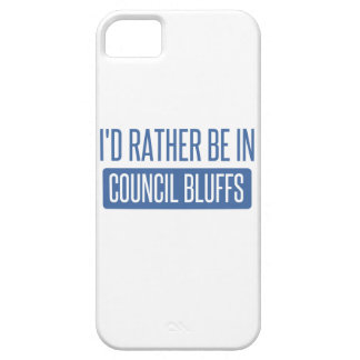 I'd rather be in Council Bluffs iPhone 5 Covers