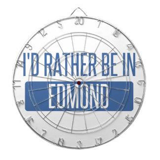 I'd rather be in Edmond Dartboard