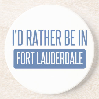 I'd rather be in Fort Lauderdale Coaster