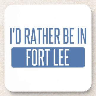 I'd rather be in Fort Lee Beverage Coaster