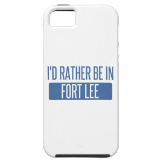 I'd rather be in Fort Lee iPhone 5 Covers