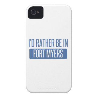I'd rather be in Fort Myers iPhone 4 Covers