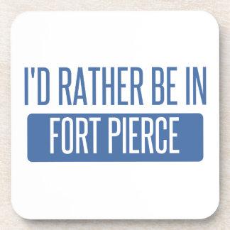 I'd rather be in Fort Pierce Beverage Coaster