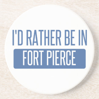 I'd rather be in Fort Pierce Beverage Coasters