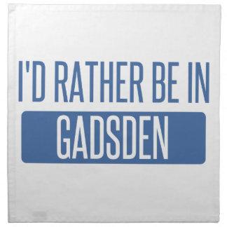 I'd rather be in Gadsden Napkin