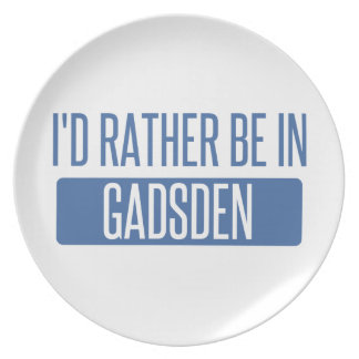 I'd rather be in Gadsden Plate