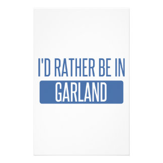 I'd rather be in Garland Stationery