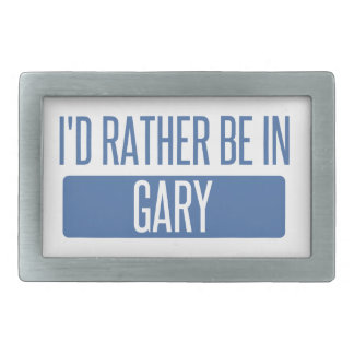 I'd rather be in Gary Belt Buckle