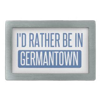 I'd rather be in Germantown Belt Buckles