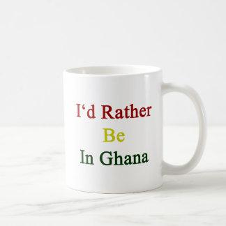 I'd Rather Be In Ghana Coffee Mug