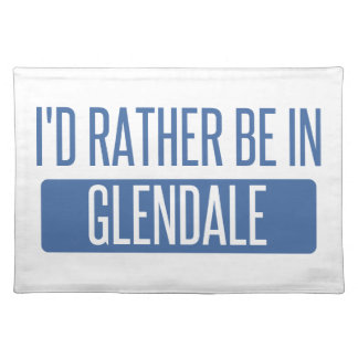 I'd rather be in Glendale AZ Placemat