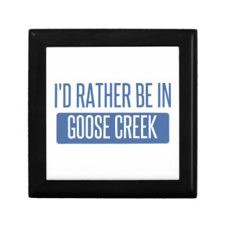 I'd rather be in Goose Creek Gift Box