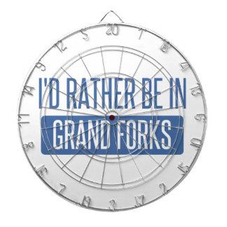 I'd rather be in Grand Forks Dartboard