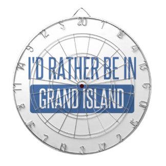 I'd rather be in Grand Island Dartboard