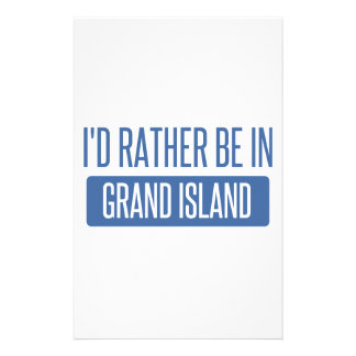 I'd rather be in Grand Island Stationery