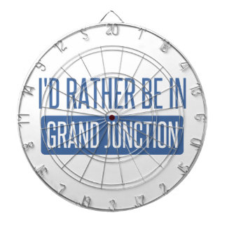I'd rather be in Grand Junction Dartboard