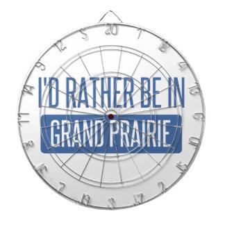 I'd rather be in Grand Prairie Dartboard