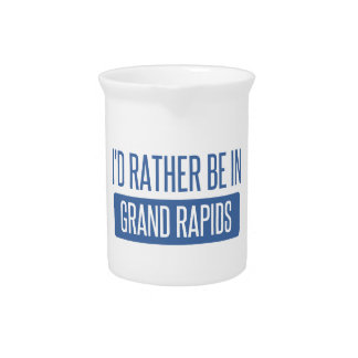 I'd rather be in Grand Rapids Pitcher