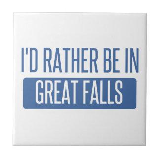 I'd rather be in Great Falls Ceramic Tile