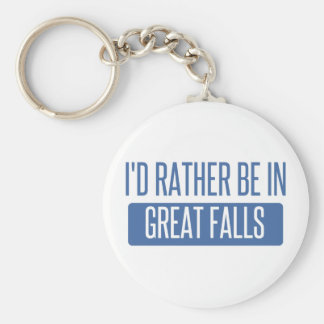 I'd rather be in Great Falls Key Ring