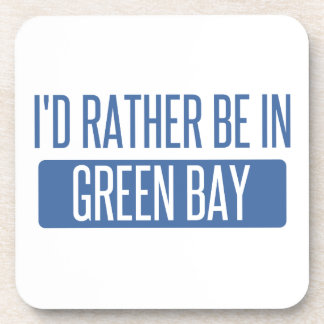 I'd rather be in Green Bay Beverage Coasters