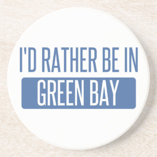 I'd rather be in Green Bay Drink Coasters