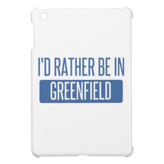 I'd rather be in Greenfield iPad Mini Covers
