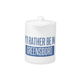 I'd rather be in Greensboro